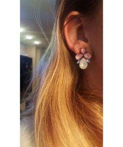 Classic Hanging Colorful Teardrop Earring