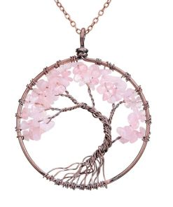 Rooted Courageous Life Annular Pendant