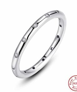 Trendy Classic Sterling Ring