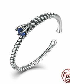 Pristine Deep Blue Ring