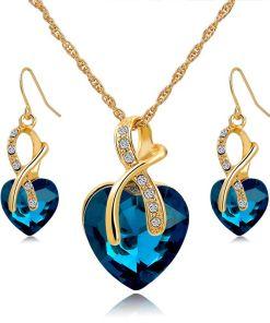 Sweet Heart Ladies Jewelry Set