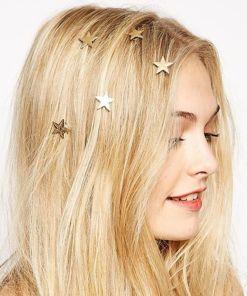 Golden Stars Hairpin Jewelry