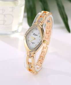 Polished Crystal Ladies watch