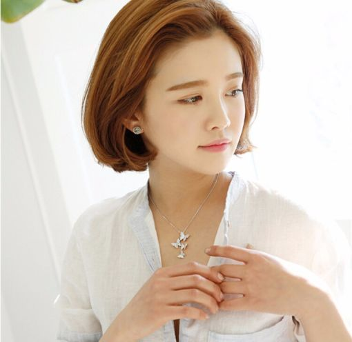 Adorable Butterfly Chain Necklace