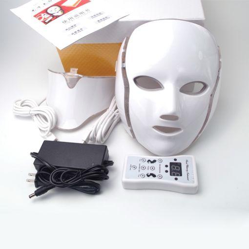 Colorful LED face mask