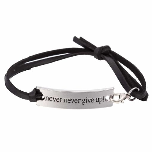 The Never Give up Charmy Bracelet