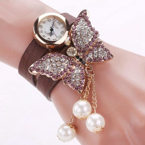 Charming Butterfly Wristwatch