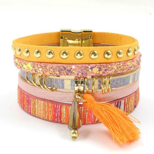 Fantastic Bracelet With Love Colors