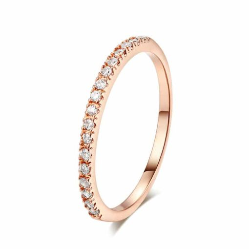 Classical Crystals Wedding Ring