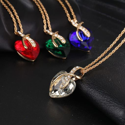 Glamour Lady?s Exotic Hearty Necklace