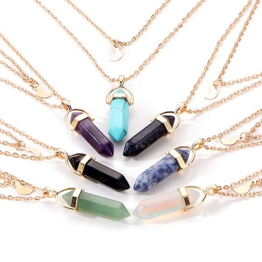 New Attractive Colorful Chain Necklace
