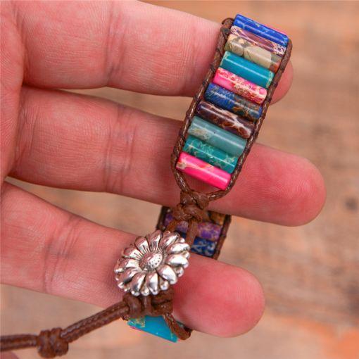Bohemian Precious Stone Bracelet