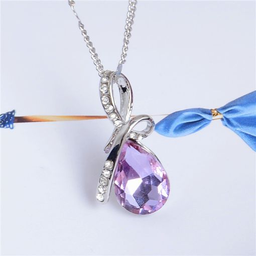 Crystal Chain Necklace