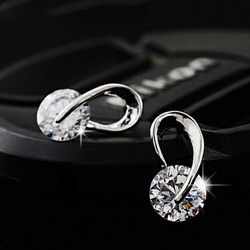 Seamless Grand Style Sparkling Earring
