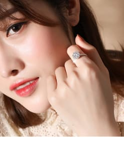 Genuine Silver Spinning Ring - Rose Gold