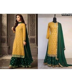 Attractive-Trendy-Faux-Georgette-Suits-&-Dress-Materials2