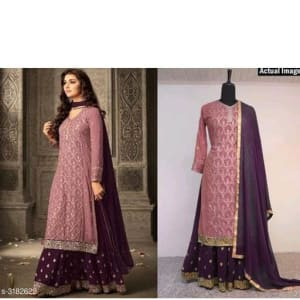 Attractive-Trendy-Faux-Georgette-Suits-&-Dress-Materials1