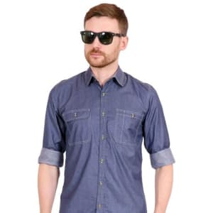 Men's Essential Partywear Cotton Shirts Vol 1 (5)