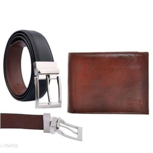 Stylish Men's Leather Reversible Belts With Wallet web Vol 2 (5)