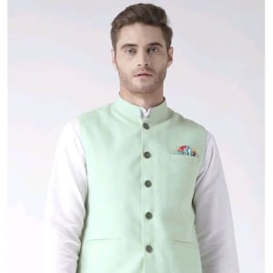 Hangup Mens Stylish Solid Ethnic Jacket Vol 1 (1)