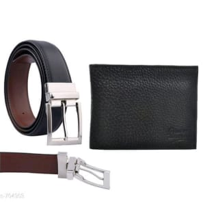 Stylish Men's Leather Reversible Belts With Wallet web Vol 2 (2)