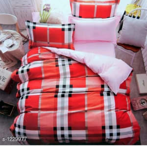 Blissful Comfort Cotton Printed Double Bedsheets Vol 16 (2)