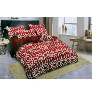 Blissful Comfort Cotton Printed Double Bedsheets Vol 16 (5)