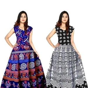 Jasleen Stunning Cotton Dresses1