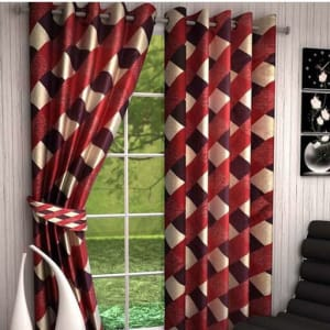 Printed Polyester Door Curtains Vol 2 (5)