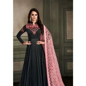 Designer Arihant Alveera Long Georgette Suit web Vol 1 (3)