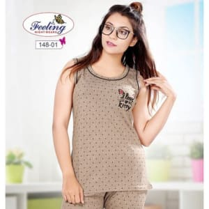 Trendy Women's Hosiery Cotton Night Suits Vol 4 (6)