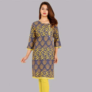 Attractive Rayon Women's Kurtis web Vol 12 (4)