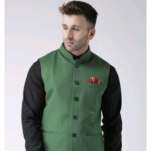 Perfect-Fit Men's Polyester Viscose Waist Coats Vol 1 (5)