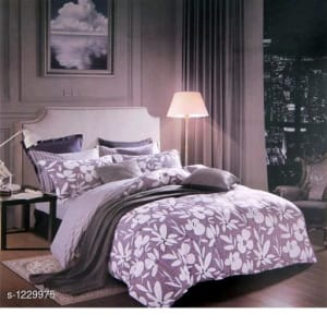 Blissful Comfort Cotton Printed Double Bedsheets Vol 16 (11)
