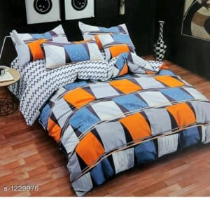Blissful Comfort Cotton Printed Double Bedsheets Vol 16 (10)