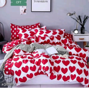 Blissful Comfort Cotton Printed Double Bedsheets Vol 16 (9)