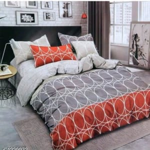 Blissful Comfort Cotton Printed Double Bedsheets Vol 16 (8)
