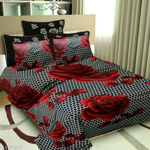 Splendor Exotic Poly Cotton Double Bedsheets Vol 3 (16)