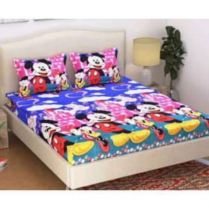 Splendor Exotic Poly Cotton Double Bedsheets Vol 3 (13)