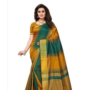 Jivika Attractive Cotton Silk Women's Sarees web (3)