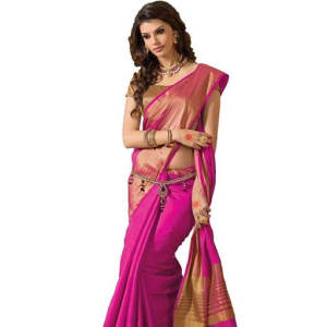 Jivika Attractive Cotton Silk Women's Sarees web (1)