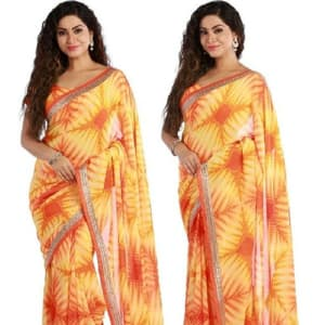 Jenita Voluminous Georgette Sarees web Vol 7 (6)