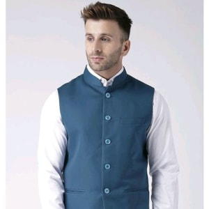 Perfect-Fit Men's Polyester Viscose Waist Coats Vol 1 (11)