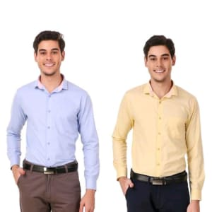 Men's Elegant Formal Shirts Combo Vol 2 (1)