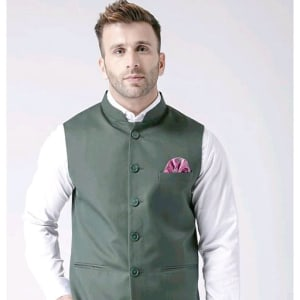 Perfect-Fit Men's Polyester Viscose Waist Coats Vol 2 (6)
