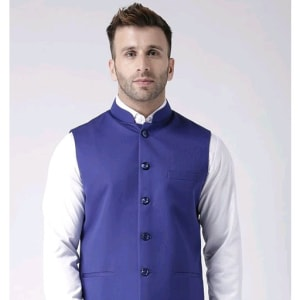 Perfect-Fit Men's Polyester Viscose Waist Coats Vol 1 (9)