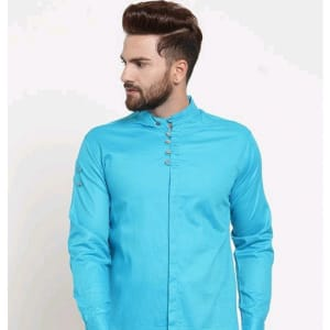 Men's Stylish Trendy Cotton Solid Shirts (8)