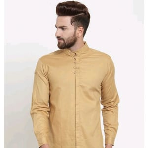 Men's Stylish Trendy Cotton Solid Shirts (7)