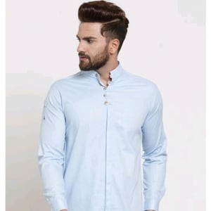 Men's Stylish Trendy Cotton Solid Shirts (6)