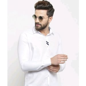 Men's Stylish Trendy Cotton Solid Shirts (4)